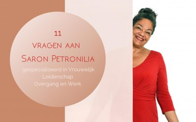 11 vragen aan Saron petronilia